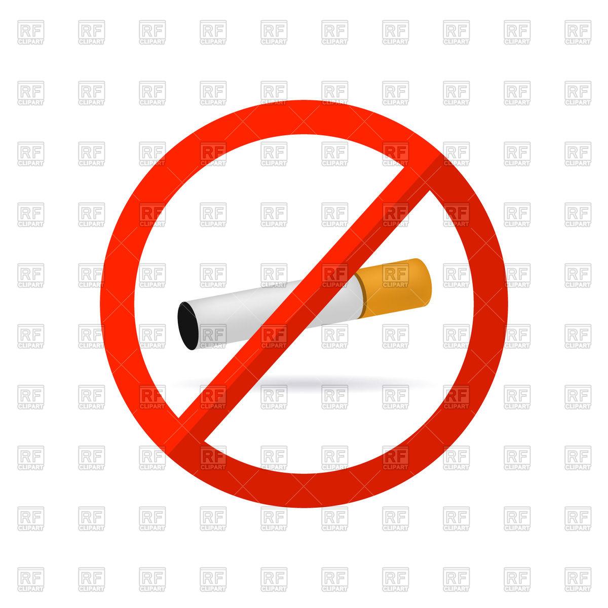 1200x1200 No Smoking Icon