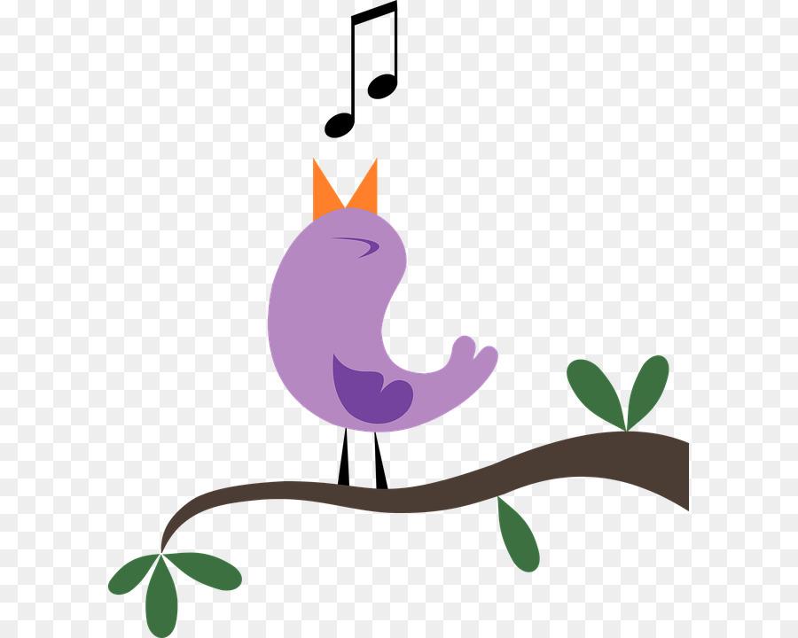 900x720 Songbird Singing Clip Art