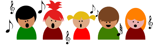600x211 Children Singing Clipart Free Collection Download And Share