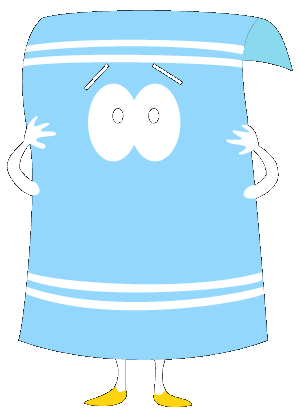 300x416 Free Download Of South Park Towelie Vector Logo