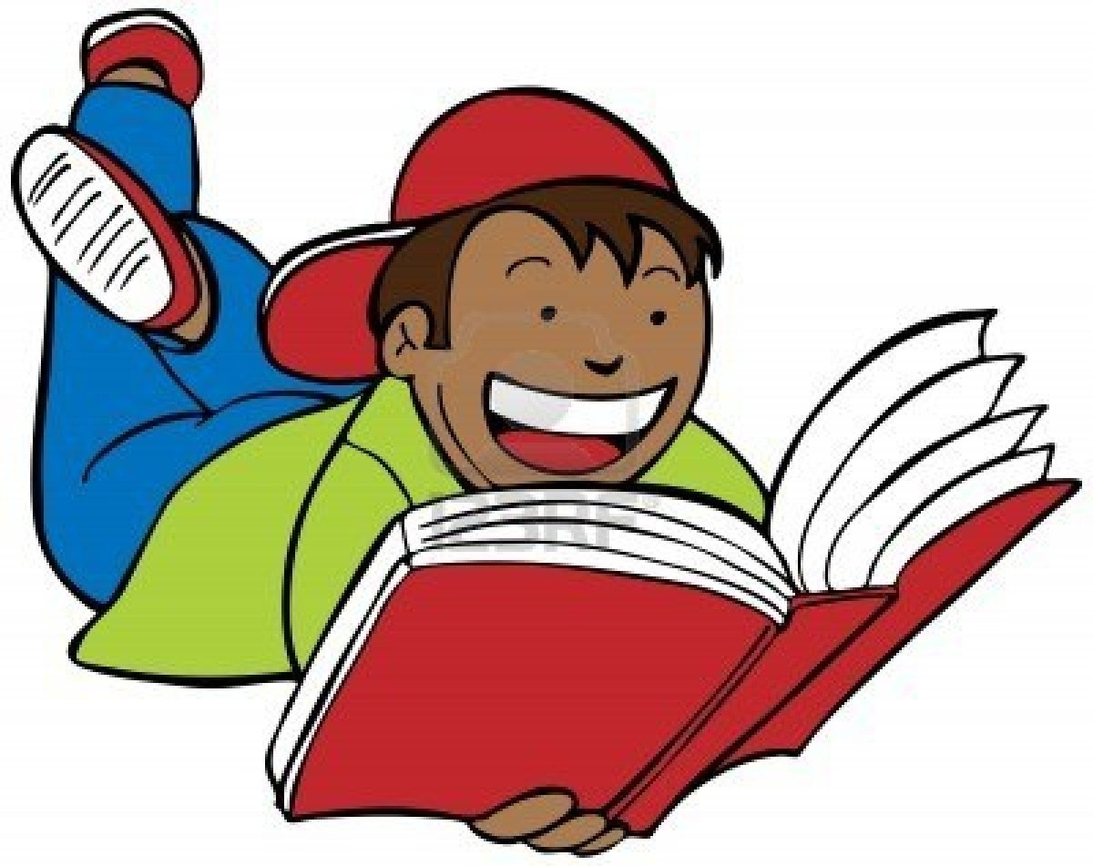 1200x951 Student Reading Clipart