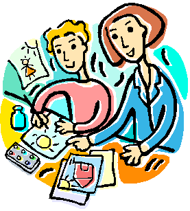 277x307 Clipart Of Students Drawing For Teaching Strategy Post Sewisabel