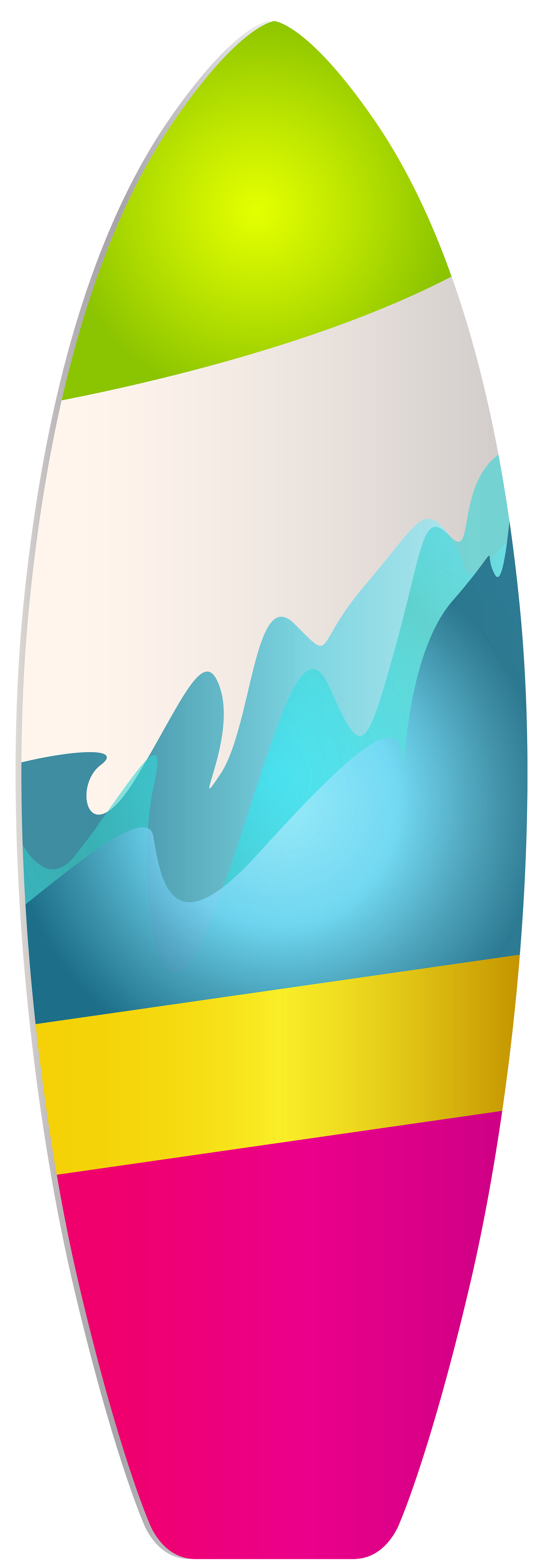 2773x8000 Surf Board Png Clip Art