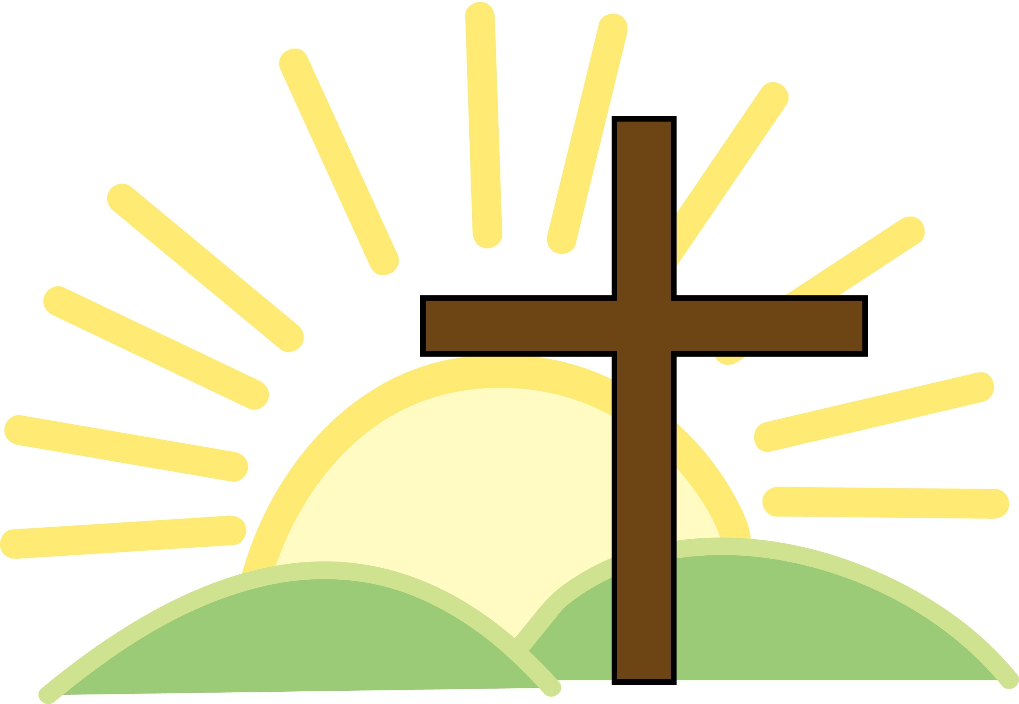 3300x2283 Easter Sunrise Service 7am St Jacobs Mennonite Church Calvary