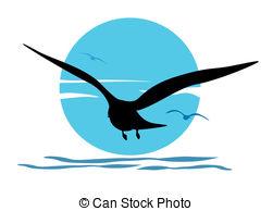 251x194 Bird Sunrise Illustrations And Clip Art.