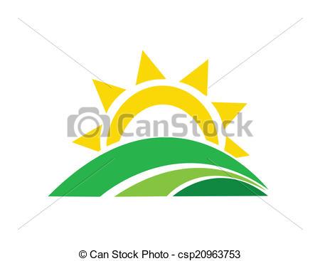 450x367 Vector Illustration Of Sunrise Sun Clipart Vector