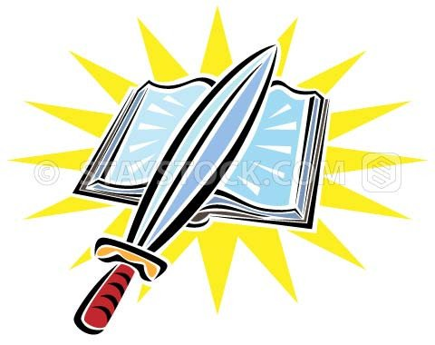 480x380 Bible Sword Clip Art Clipart Pencil And In Color