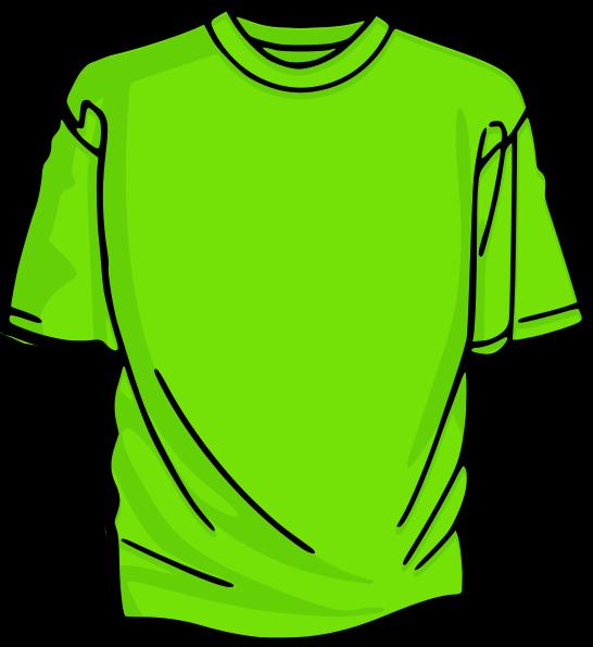 546x595 Light Green T Shirt Clip Art