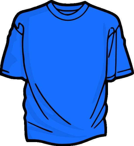 546x595 Azure T Shirt Clip Art