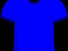 220x165 Blue Shirt Clipart Blue T Shirt Clip Art