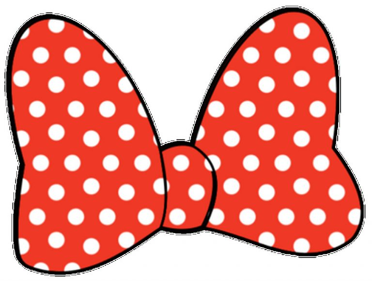 768x580 Minnie Mouse Bow Template Clip Art Clipart Best Felt