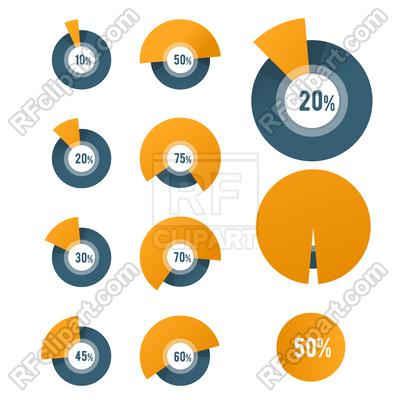 400x400 Pie Chart Template
