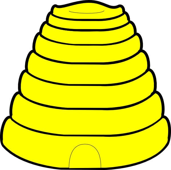 600x597 Top 81 Hive Clip Art