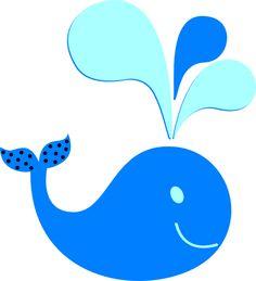 236x259 Little Blue Whale Clip Art