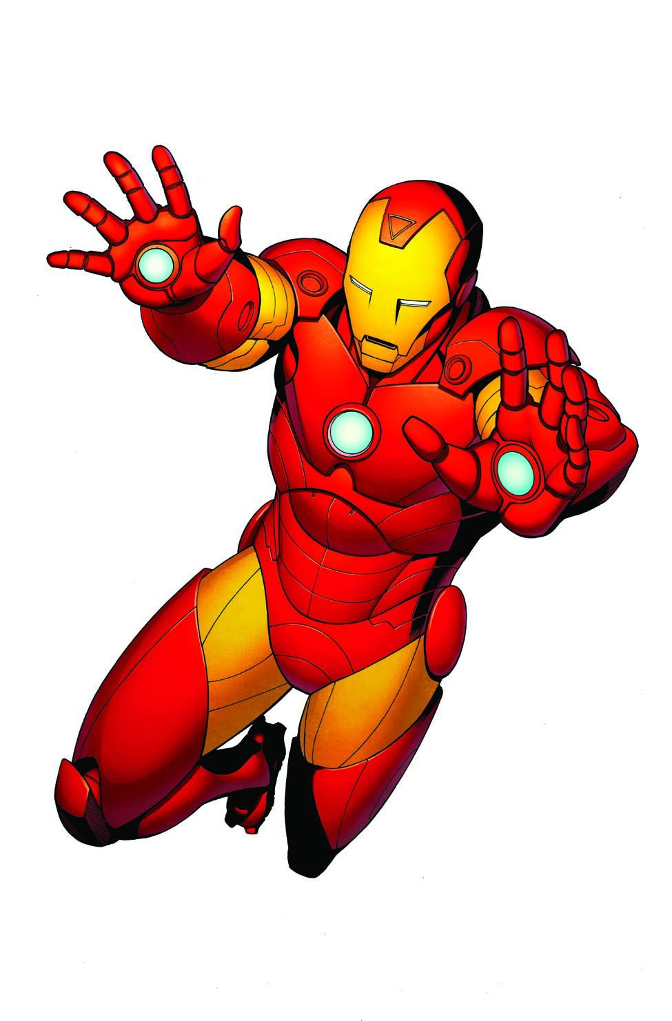 975x1482 Capt Iron Man Color Final Clipart Panda
