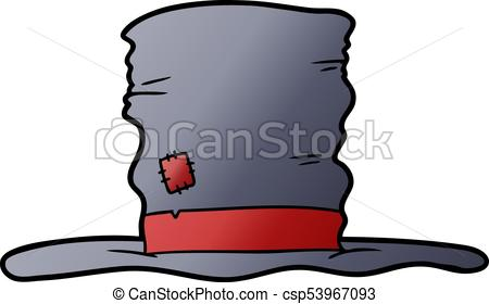 450x280 Old Top Hat Cartoon Eps Vectors