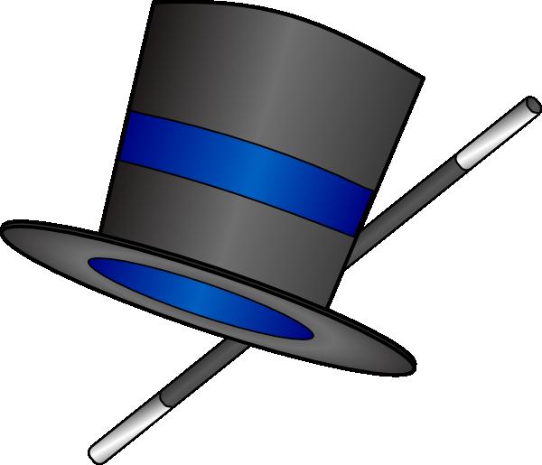 600x515 Top Hat Clip Art