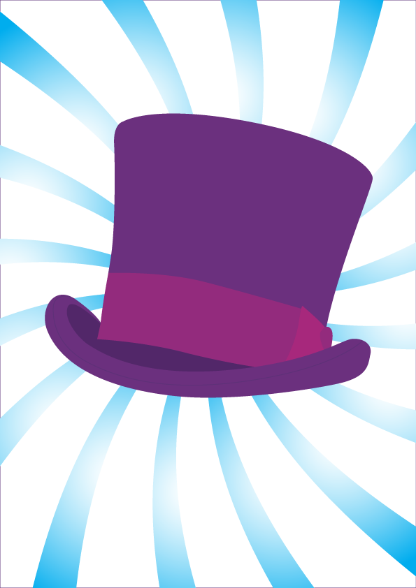 595x842 Top Hat Clipart Purple Top