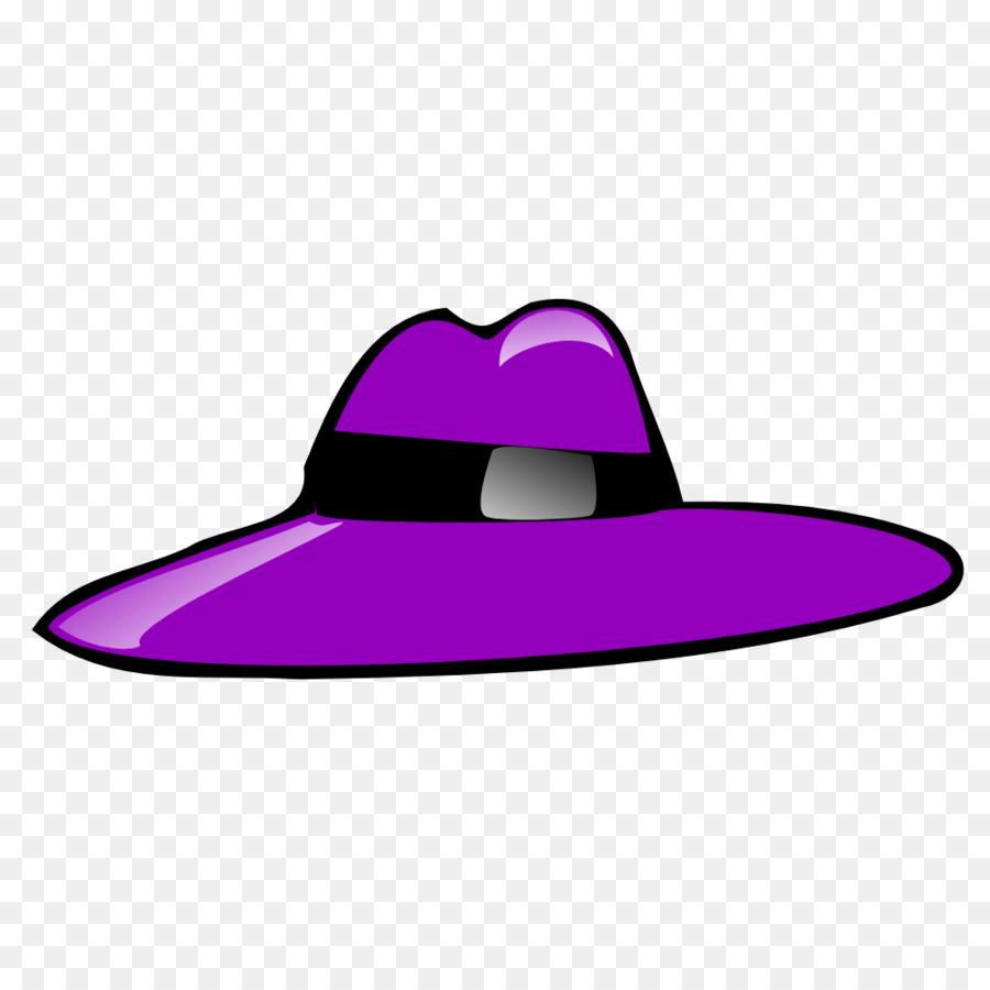 900x900 Top Hat Purple Clip Art