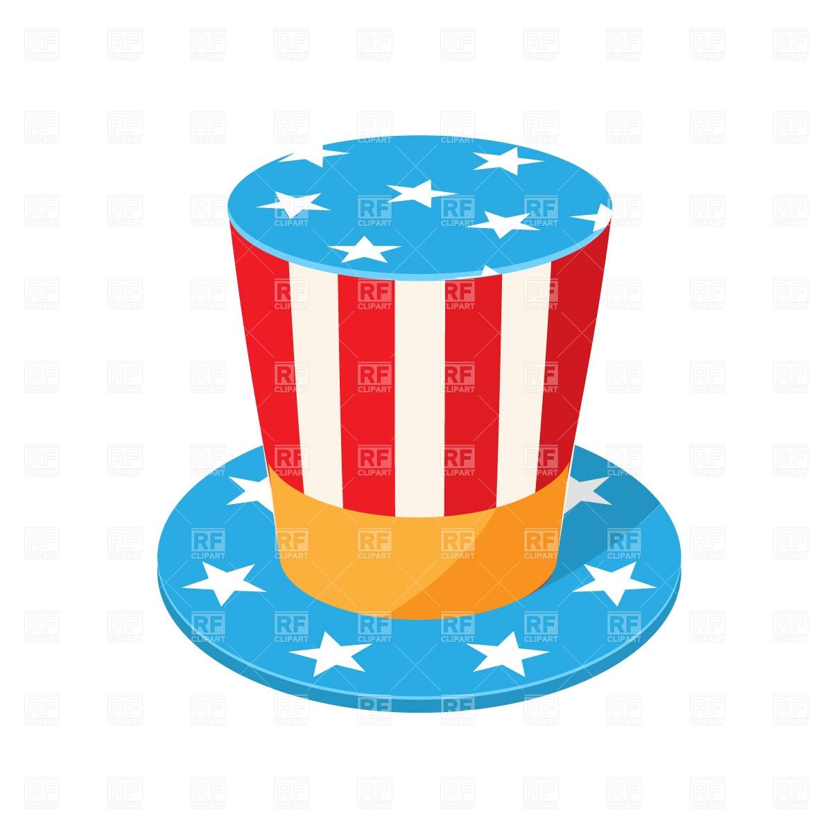 1200x1200 Uncle Sam Top Hat Free Download Vector Clip Art Image