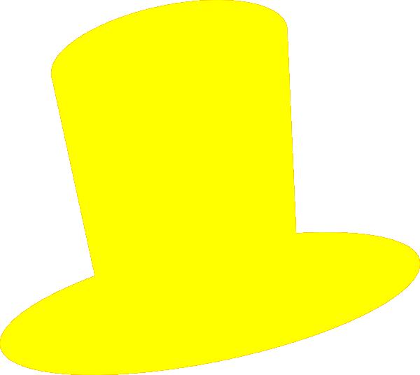 600x536 Yellow Hat Clip Art