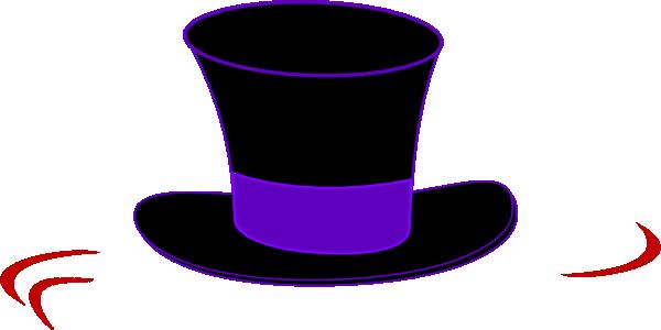 600x300 Top Hat Clipart Black Top Hat Clip Art