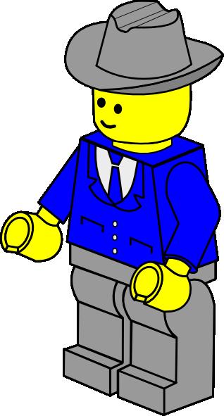 318x591 Lego Town Businessman Clip Art Free Vector 4vector