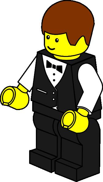336x592 Lego Town Waiter Svg Clip Arts Download