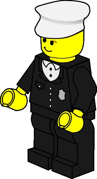 324x593 Lego Town Policeman Clip Art Free Vector 4vector