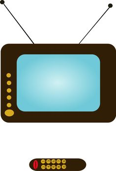 236x347 Old Television Clip Art