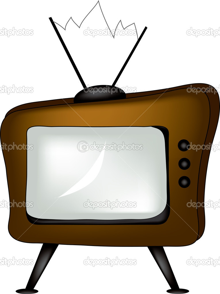 765x1023 Old Television Clip Art 3886031