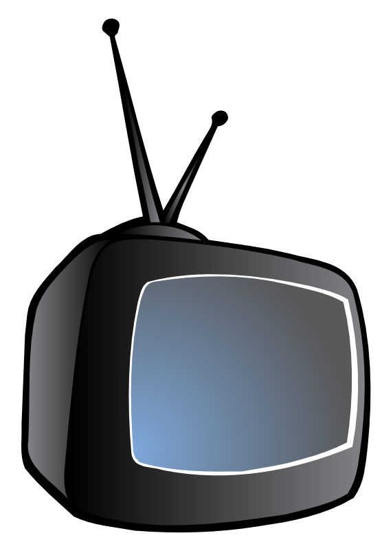 556x800 Television Free To Use Clipart 2