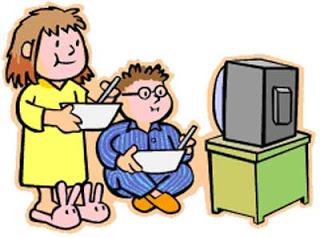 320x238 Children Watching Tv Clip Art Clipart
