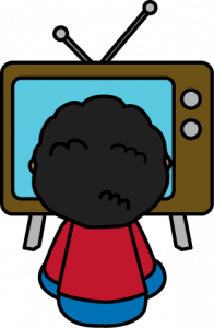 196x300 Watching Tv Clipart Child Watching Tv Clip Art Child Watching Tv