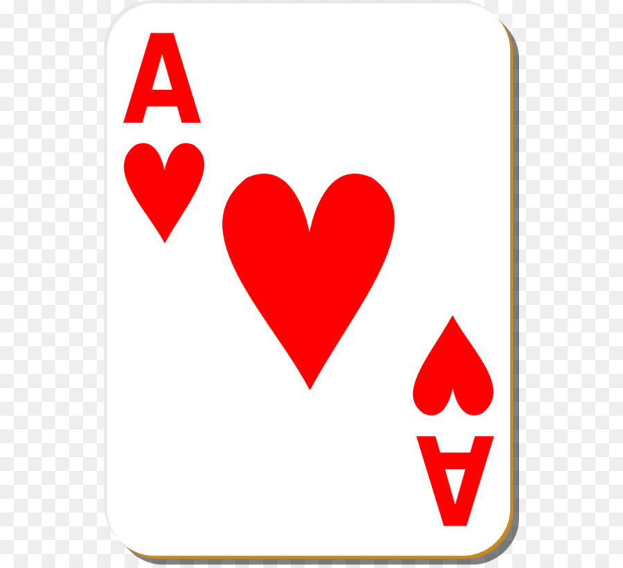 900x820 Playing Card King Ace Of Hearts Clip Art