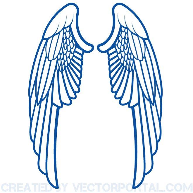 660x660 Wings Clip Art Vector