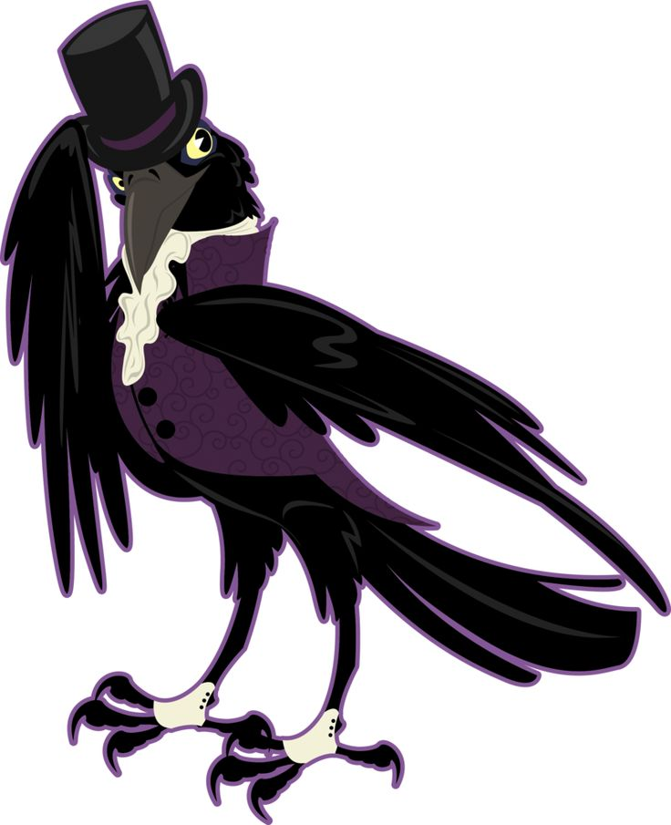 736x905 Crow Clipart Victorian