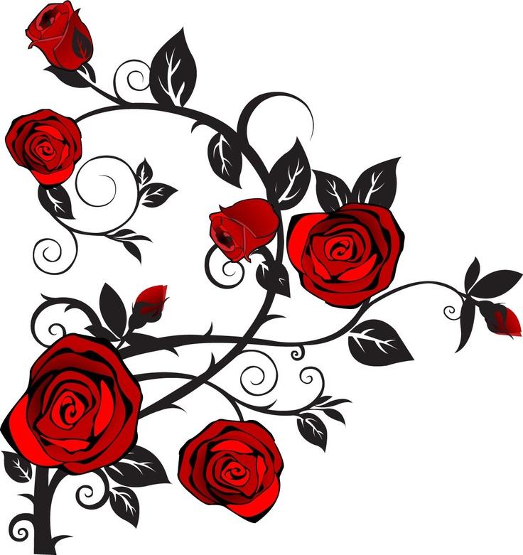 736x781 Rose Vine Clipart Roses Free Rose Clipart Public Domain Flower