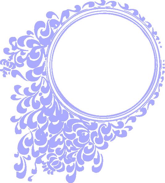 534x595 Purple Vintage Clip Art
