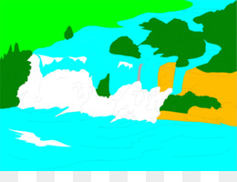 260x200 Niagara Falls Waterfall Clip Art