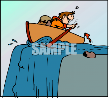 350x316 Royalty Free Canoe Clip Art, Transportation Clipart