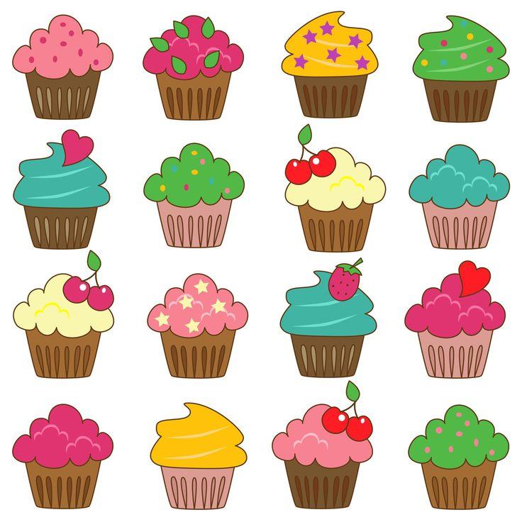 736x736 Cupcake Clip Art Amp Cupcake Clipart Images