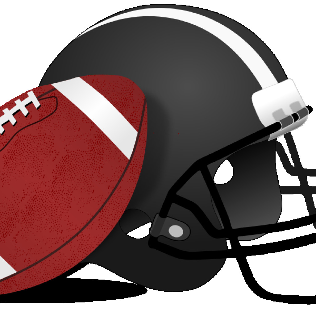 1024x1024 Free Football Clipart To Use On Websites For Team Parties Or Any