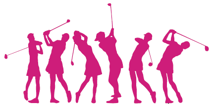 430x219 Funny Ladies Golf Clip Art