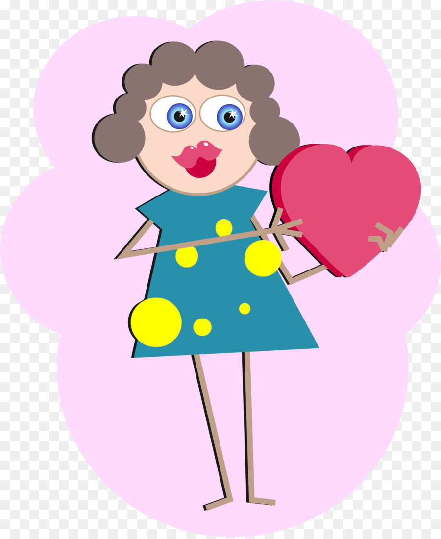 900x1100 Love Woman Clip Art