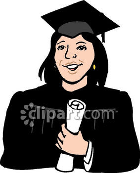 283x350 Woman College Graduate Clip Art