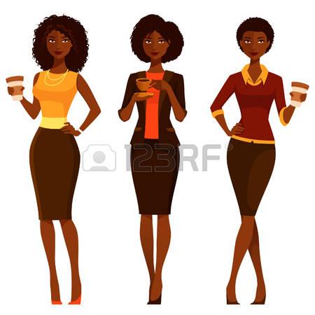 450x450 Black Women Clipart