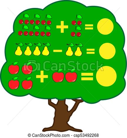 433x470 Mathematics Educational Game For Children. Learning Clip Art