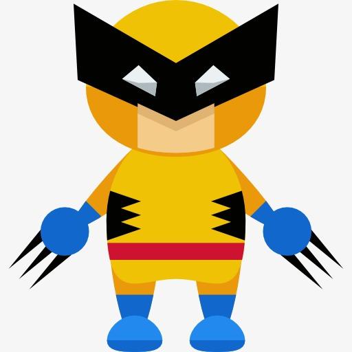 512x512 Children Dress In Yellow, X Men, Superman, Werewolf Png Image