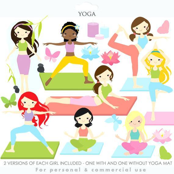Clipart Yoga
